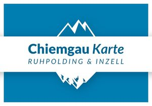 Chiemgau Karte | Ruhpolding & Inzell