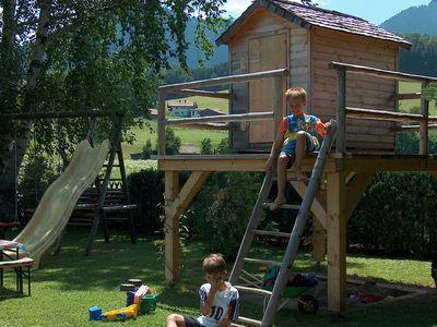 Kinderspielplatz an unserem Ferienhaus